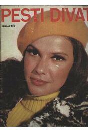 Pesti Divat 1968-69 tél - Régikönyvek