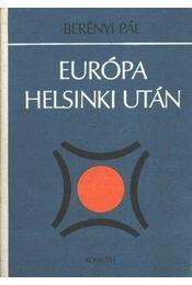 Európa Helsinki után - Régikönyvek