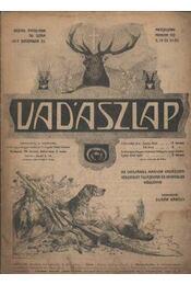 Vadászlap 1917. dec. 25. - Régikönyvek