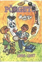 Hahota - Pörgető 1986-1987 - Régikönyvek