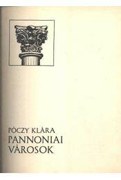 Pannoniai városok - Régikönyvek