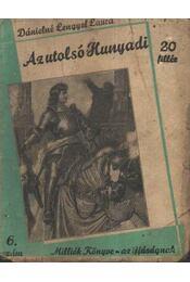 Az utolsó Hunyadi - Régikönyvek