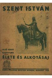 Szent István - Régikönyvek