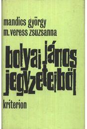 Bolyai János jegyzeteiből - Régikönyvek