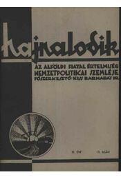 Hajnalodik - III. évf. 12. - Régikönyvek
