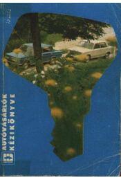 Autóvásárlók kézikönyve - Régikönyvek