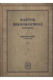 Bartók Mikrokozmosz IV. - Régikönyvek