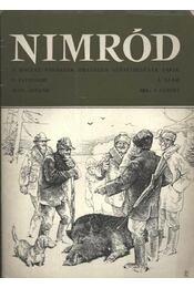 Nimród 1973. évfolyam (teljes) - egybekötve - Régikönyvek