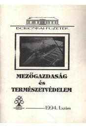Mezőgazdaság és természetvédelem 1994. 1. szám - Régikönyvek