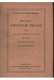 atirni - Báthory István levélváltása az erdélyi kormánnyal (1581-1585) - Régikönyvek