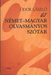 Német-magyar olvasmányos szótár - Régikönyvek