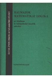 Halmazok - Régikönyvek