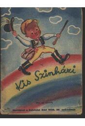 Kis Szinházi Élet 1938. 36. szám - Régikönyvek