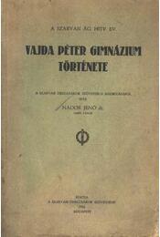 Vajda Péter gimnázium története - Régikönyvek