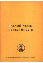 Haladó német nyelvkönyv III. - Régikönyvek