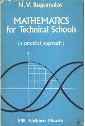 Mathematics for Technical Schools - Régikönyvek