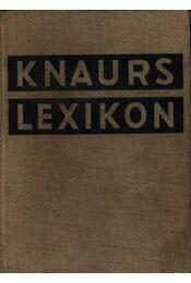 Knaurs Lexikon A-Z - Régikönyvek