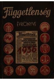 Függetlenség évkönyve 1936 - Régikönyvek