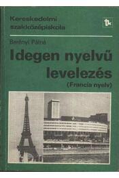 Idegen nyelvű levelezés (francia nyelv) - Régikönyvek