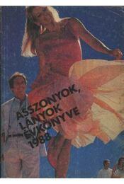 Asszonyok, lányok évkönyve 1988 - Régikönyvek