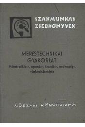 Méréstechnikai gyakorlat - Régikönyvek