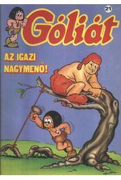 Góliát 21. (Az igazi nagymenő) - Régikönyvek