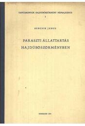 Paraszti állattartás Hajdúböszörmegyében - Régikönyvek