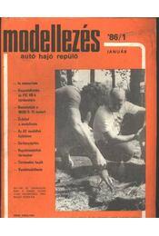 Modellezés 1986. évfolyam - Régikönyvek