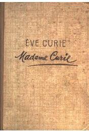 Madame Curie - Régikönyvek