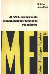 A 20. századi családtörténeti regény - Régikönyvek