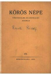 Körös népe IV. - Régikönyvek