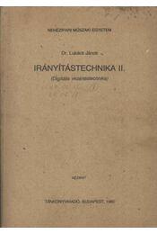 Irányítástechnika II. - Régikönyvek
