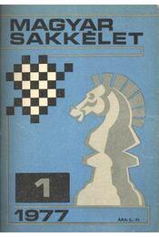 Magyar Sakkélet 1977. év (teljes) - Régikönyvek
