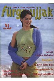 Fürge ujjak 2002. 8. szám augusztus - Régikönyvek