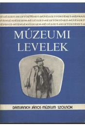 Múzeumi levelek 53-54. sz. - Régikönyvek