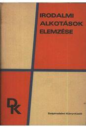 Irodalmi alkotások elemzése - Régikönyvek
