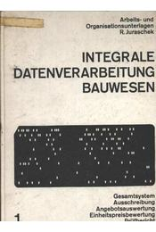 Integrale Datenverarbeitung Bauwesen - Régikönyvek
