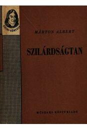 Szilárdságtan - Régikönyvek