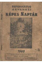 Református árvaházi képes naptár 1949. - Régikönyvek