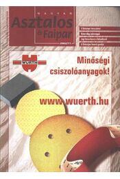 Magyar Asztalos és Faipar 2002/11. - Régikönyvek