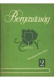 Borgazdaság 1987/2. - Régikönyvek