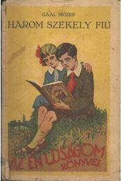 Három székely fiú - Régikönyvek