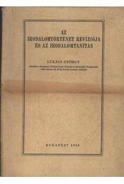 Az irodalomtörténet revíziója és az irodalomtanítás - Régikönyvek