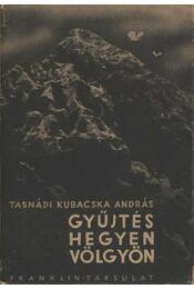 Gyűjtés hegyen-völgyön - Régikönyvek