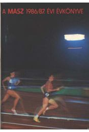 A MASZ 1986-87 évi évkönyve - Régikönyvek