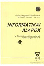 Informatikai alapok - Régikönyvek