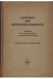 Leitfaden der russischen grammatik - Régikönyvek
