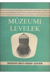Múzeumi levelek 45-46. szám - Régikönyvek