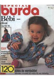 Special Burda Bébi divat Ősz/Tél '92 - Régikönyvek