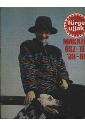 Fürge ujjak Magazin ősz-tél '88-89 - Régikönyvek